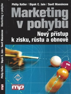 Kniha_Philip Kotler Marketing v pohybu